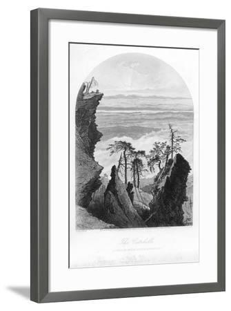 The Catskills, Sunrise from South Mountain, 1873--Framed Giclee Print