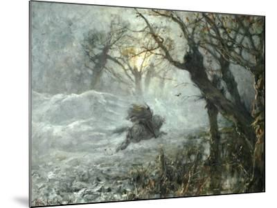 The King of the Woods, Ca 1887-Juli Julievich Klever-Mounted Giclee Print
