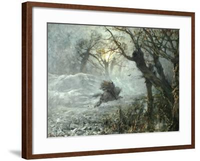 The King of the Woods, Ca 1887-Juli Julievich Klever-Framed Giclee Print