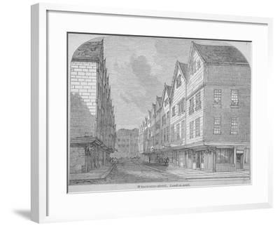 View of Great Winchester Street, City of London, 1850--Framed Giclee Print