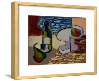 Still Life with a Pear, 1927--Framed Giclee Print