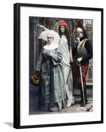 France !!! Quo Vadis?, French WWI Postcard, 1914-1918--Framed Giclee Print