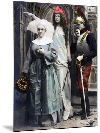 France !!! Quo Vadis?, French WWI Postcard, 1914-1918--Mounted Giclee Print