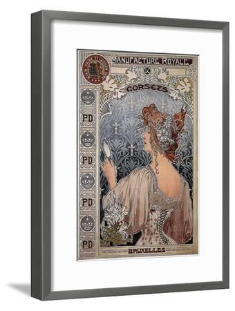 Manufacture Royale, 1897-Henri Privat-Livemont-Framed Giclee Print