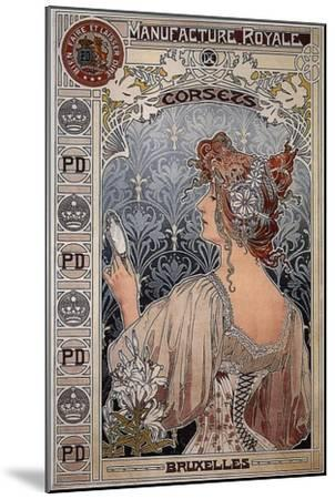 Manufacture Royale, 1897-Henri Privat-Livemont-Mounted Giclee Print
