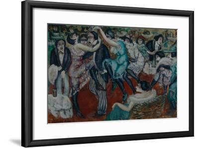 Café Chantant, 1913-Boris Dmitryevich Grigoriev-Framed Giclee Print