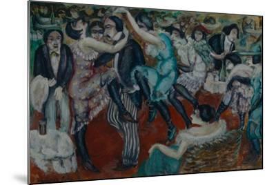 Café Chantant, 1913-Boris Dmitryevich Grigoriev-Mounted Giclee Print