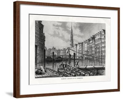 Church of St Catherine, Hamburg, Germany, 1879-Laplante Laplante-Framed Giclee Print