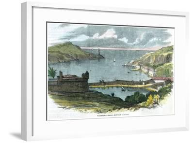 Villafranca, Italy, C1870-A Leclerc-Framed Giclee Print