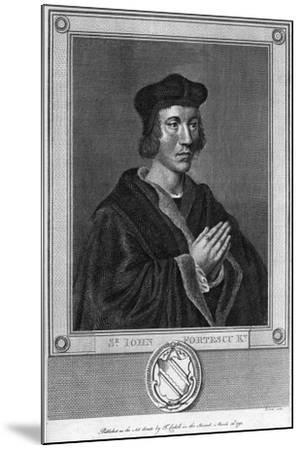 Sir John Fortescu, 1793--Mounted Giclee Print