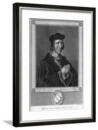 Sir John Fortescu, 1793--Framed Giclee Print