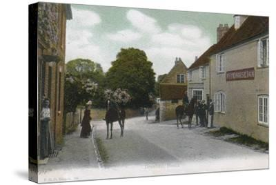 Droxford, Hampshire, 1905--Stretched Canvas Print