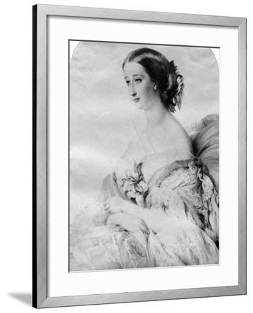 The Empress of the French--Framed Giclee Print