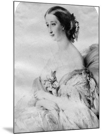 The Empress of the French--Mounted Giclee Print