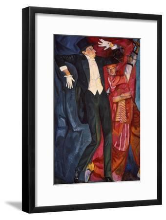 Portrait of the Stage Producer Vsevolod Meyerhold, 1916-Boris Grigor'yev-Framed Giclee Print