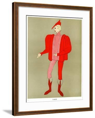Costume of 1455, Early to Mid 20th Century--Framed Giclee Print