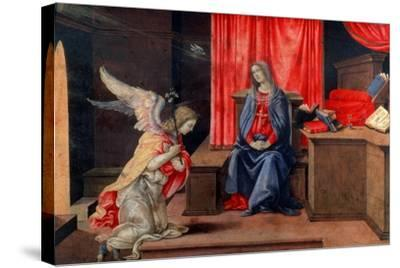 The Annunciation, Early 1490S-Filippino Lippi-Stretched Canvas Print