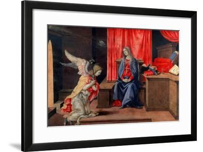 The Annunciation, Early 1490S-Filippino Lippi-Framed Giclee Print