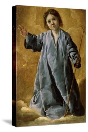 The Infant Christ, C1635-C1640-Francisco de Zurbar?n-Stretched Canvas Print
