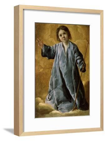 The Infant Christ, C1635-C1640-Francisco de Zurbar?n-Framed Giclee Print