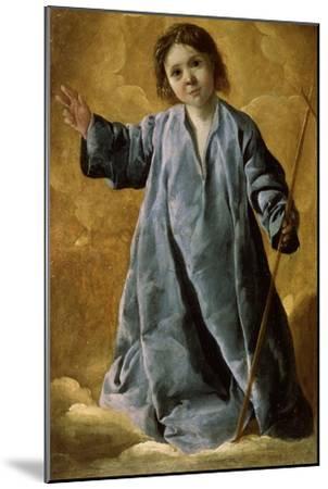 The Infant Christ, C1635-C1640-Francisco de Zurbar?n-Mounted Giclee Print
