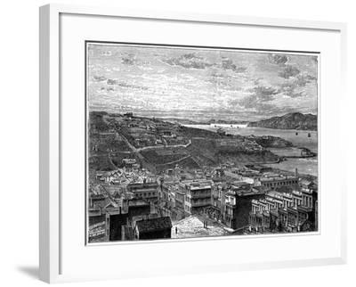 The Bay of San Francisco, America--Framed Giclee Print