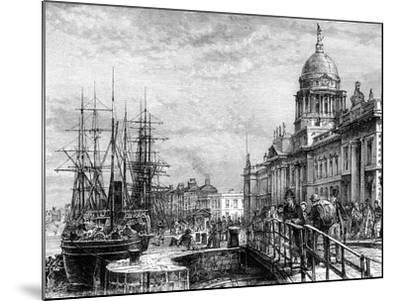 Dublin, Ireland, 19th Century-Weber-Mounted Giclee Print