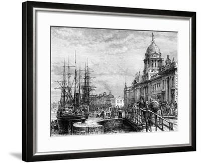 Dublin, Ireland, 19th Century-Weber-Framed Giclee Print