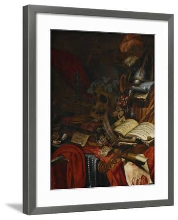 Memento Mori-Vincent Laurensz van der Vinne-Framed Giclee Print