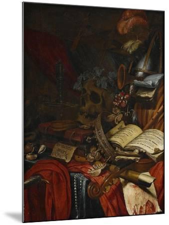 Memento Mori-Vincent Laurensz van der Vinne-Mounted Giclee Print