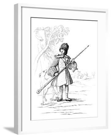 A Deer Hunter--Framed Giclee Print