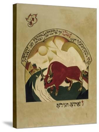 Taurus-El Lissitzky-Stretched Canvas Print