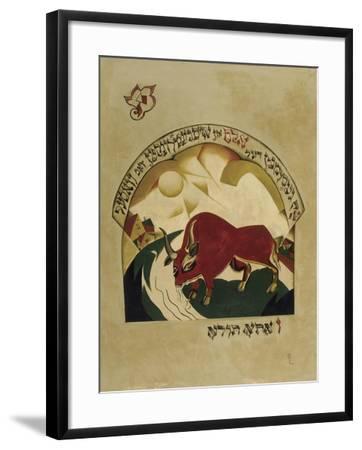 Taurus-El Lissitzky-Framed Giclee Print