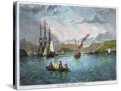 View of Punta Arenas, Costa Rica, C1880--Stretched Canvas Print