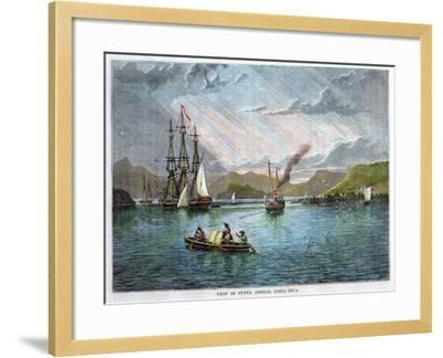 View of Punta Arenas, Costa Rica, C1880--Framed Giclee Print