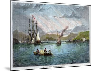 View of Punta Arenas, Costa Rica, C1880--Mounted Giclee Print