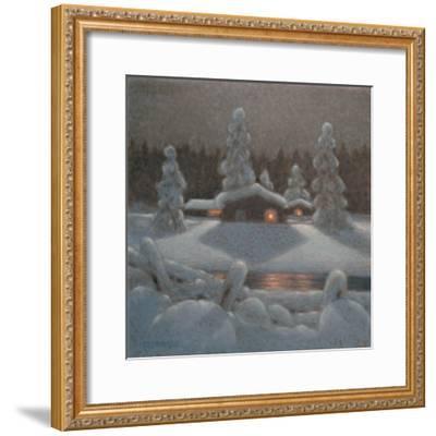 Winter Night-Bror Lindh-Framed Giclee Print