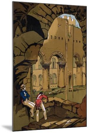 Rochester Castle, Kent, 19th Century--Mounted Giclee Print
