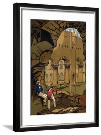 Rochester Castle, Kent, 19th Century--Framed Giclee Print