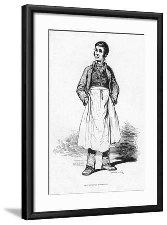 The Hospital Attendant, 19th Century--Framed Giclee Print