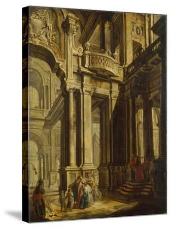 Esther before Ahasuerus--Stretched Canvas Print