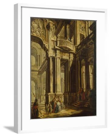 Esther before Ahasuerus--Framed Giclee Print