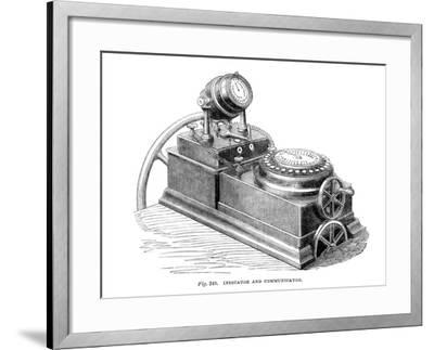 Indicator and Communicator, 1866--Framed Giclee Print