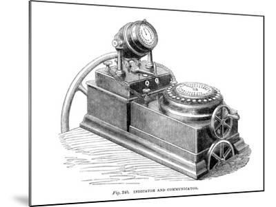 Indicator and Communicator, 1866--Mounted Giclee Print