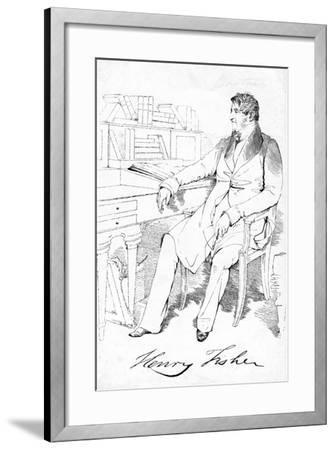 Henry Fisher, C19th Century--Framed Giclee Print
