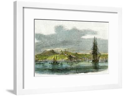Auckland, New Zealand, C1880--Framed Giclee Print