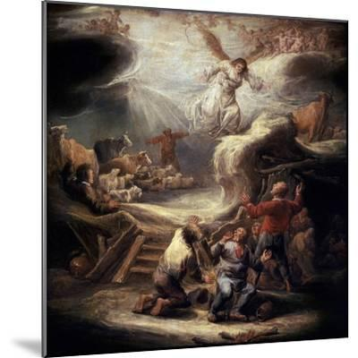 The Annunciation to the Shepherds, 17th Century-Benjamin Gerritz Cuyp-Mounted Giclee Print