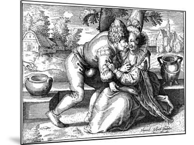 Lovelorn Peasant-Heinrich Ullrich-Mounted Giclee Print