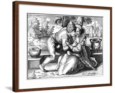 Lovelorn Peasant-Heinrich Ullrich-Framed Giclee Print