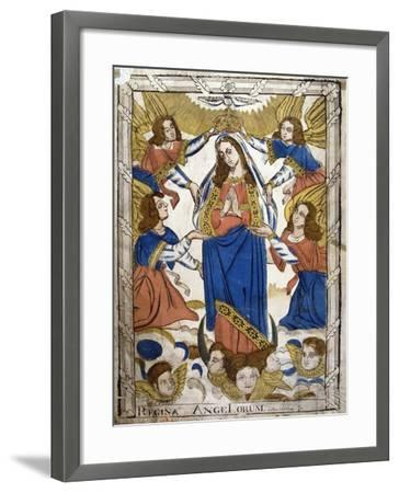 Coronation of the Virgin Mary, 19th Century--Framed Giclee Print
